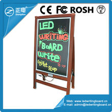 Best selling 60*80cm IPX6 water-proof marker pen with stand led neon writable led writing light panel led board light panel