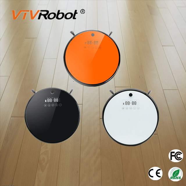 Hot sale Wet + Dry Robot vacuum cleaner smartphone wifi remote control floor cleaning robot