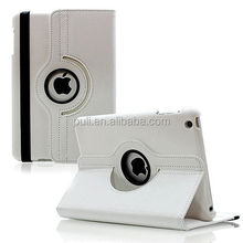 2018 New wholesale Leather stand smart 360 rotating flip shell For iPad mini1234