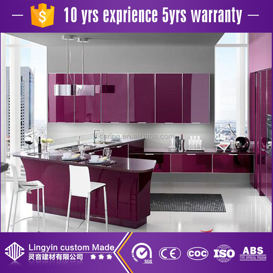 Purple Color Aluminum Cabinet Design For Kitchen   Buy Purple Color  Cabinets For Kitchen,Aluminium Kitchen Cabinet Design Product On Alibaba.com