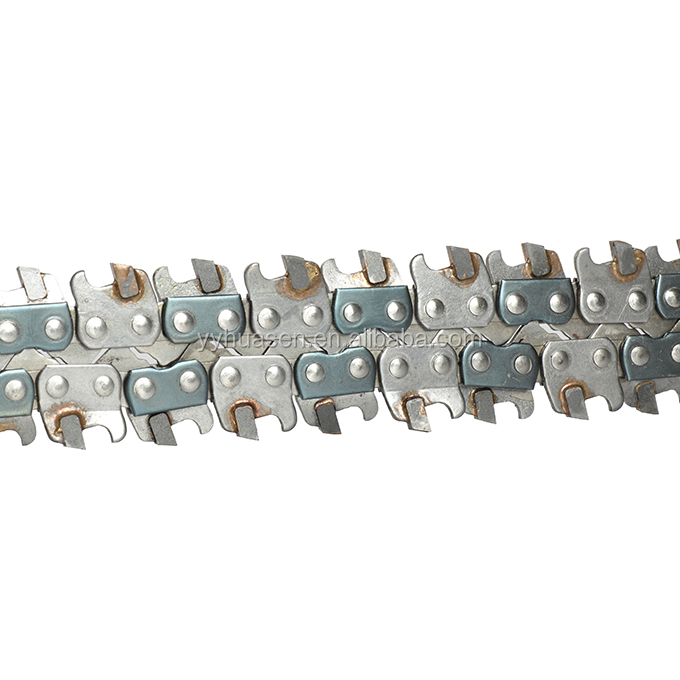 "3/8"" Guage 0.063 The Soil Chain of Chain Saw Efficiently"