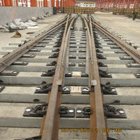 BS100 10# High manganese Steel r railway switches turnout