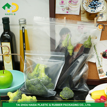 quart size fresh vegetables packing plastic bag