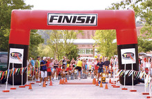 Sports FINISH line large inflatable arch Finish line custom-made