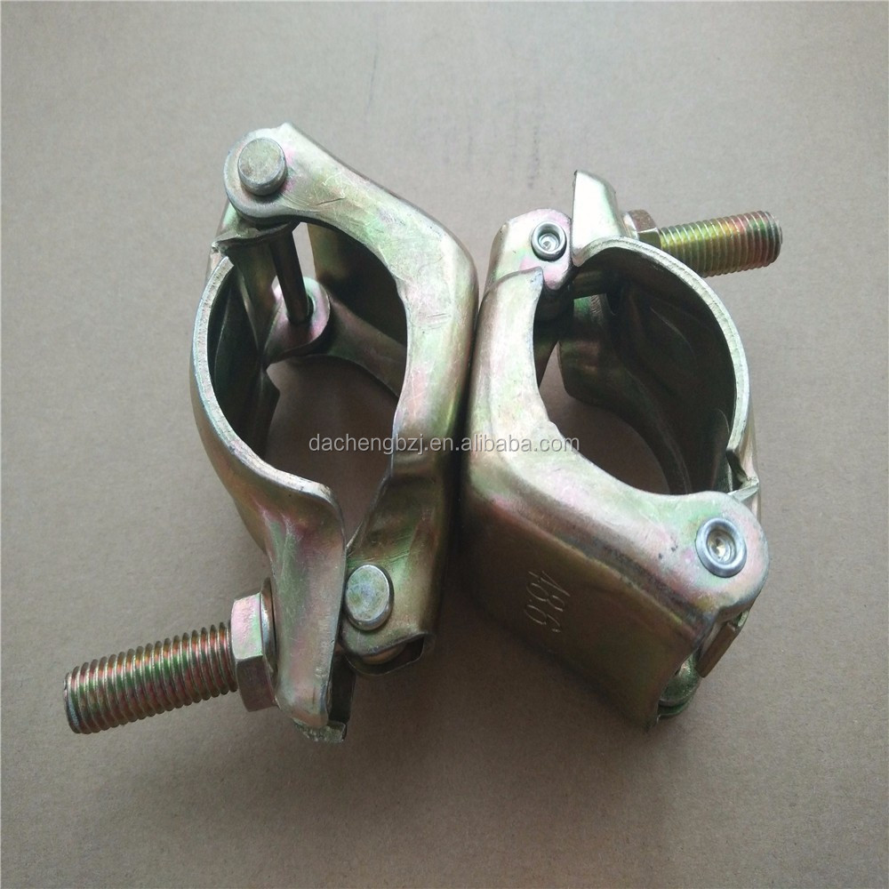 Metric fastener Japan type scaffolding double clamp