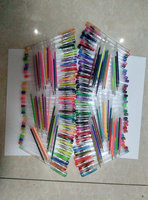 60 pcs cheap wholesale rainbow color glitter gel pen set