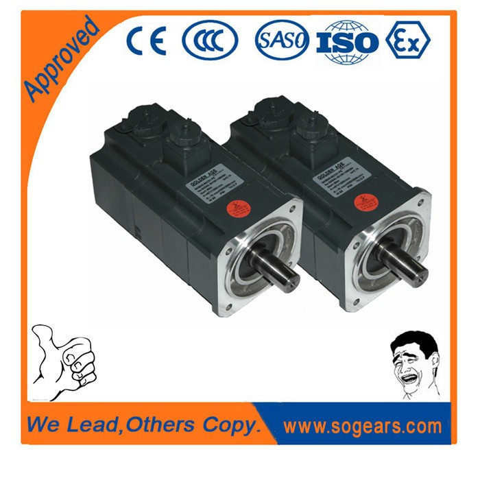 Powerful small electric motor