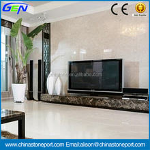 White Style Natural Polished Bianco Gioia White Marble Slab