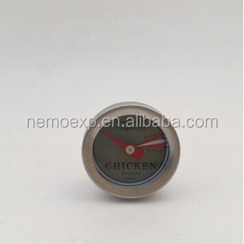 Hot Sale 1 inch Instant read meat chicken cooking thermometer
