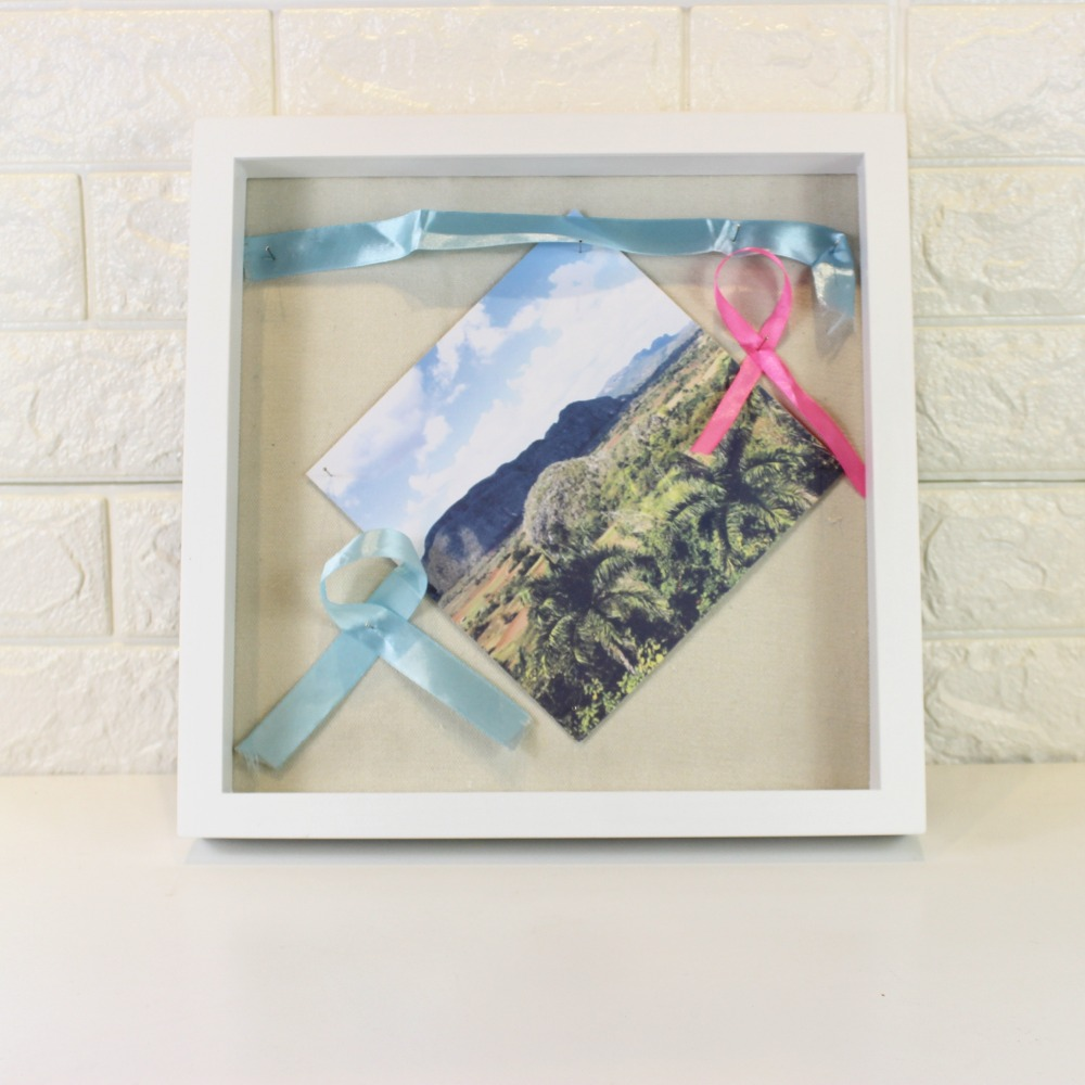 "12x12"" Display Shadow Box Frame with Linen Background easy to Hang Shadowbox Picture Frame Box Display Frame"