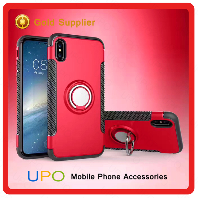 For iPhone x Case,Hard back plastic PC+Tpu Crystal Clear Hard Phone Case