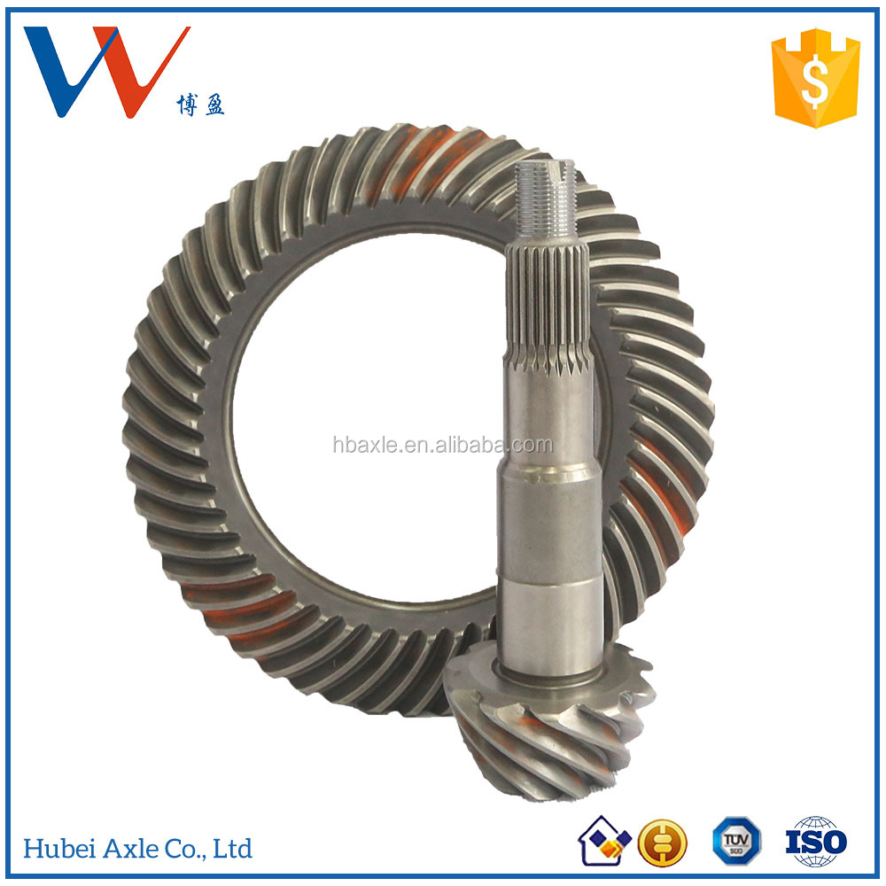 Transmission Toyota Hiace China Crown Wheel Pinion for Toyota Truck