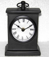 Aluminum table clock, decorative table clock, unique table clock