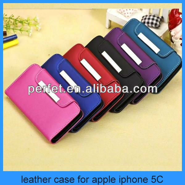 NEW Magnetic Slim Leather Wallet Case Cover for Apple iPhone 5 iPhone 5C