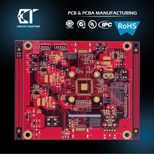 Taiwan made RoHS Certificate 94vo 94v0 HASL Surface Finish PCB