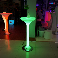 Newly design led table for bar /Portable bar with color changing/Modern coffee table