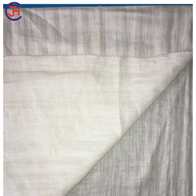 Economic and Reliable soft plain linen woven dyed fabric with factory price