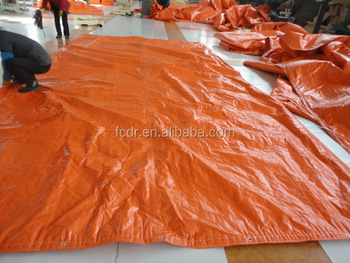 Durable insulated tarpaulins as concrete curing Blanket /Thermo PE Tarpaulins