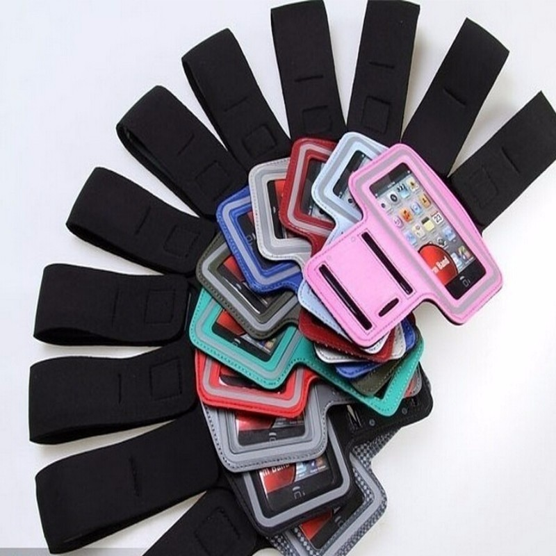 For apple iphone 4 armband cell phone Touchable Phone Sports Armband