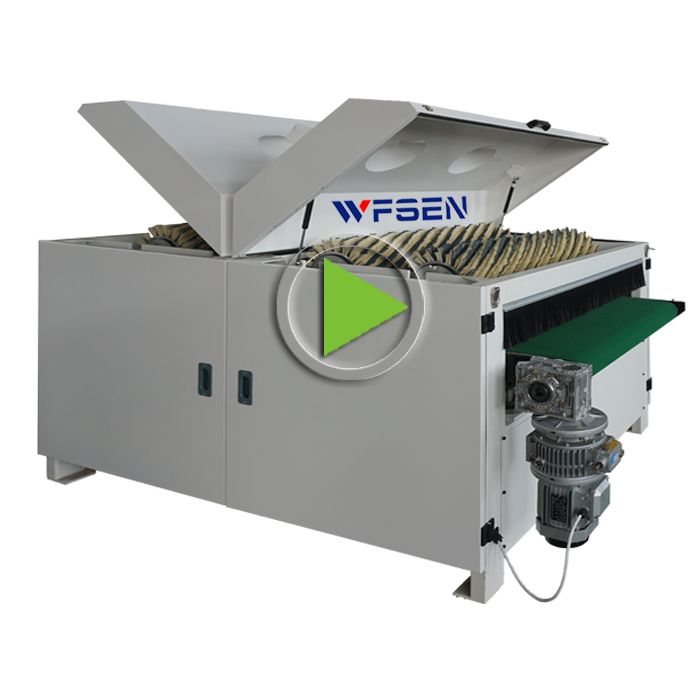R-R-R-<strong>R1000</strong> high quality sisal polishing roller mdf brushing machine