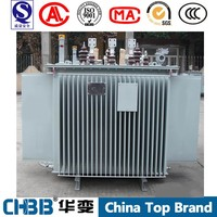 Manufacturer Low loss 6.KV to 380V 1.5mva oil immersed electrical transformer