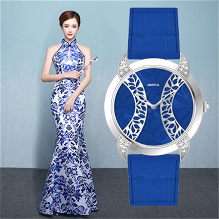 2019 New designer fashion lady clothing cheongsam watches gift promotion watches for women