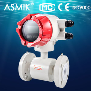 Electromagnetic flow meter/flowmeter for measuring dirty/sewage/salt/sea water