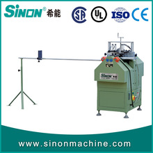 PVC UPVC window and door making machine glazing bead cutting machine for sale