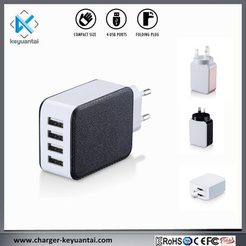 Private design 4USB travel mobile phone Cube charger