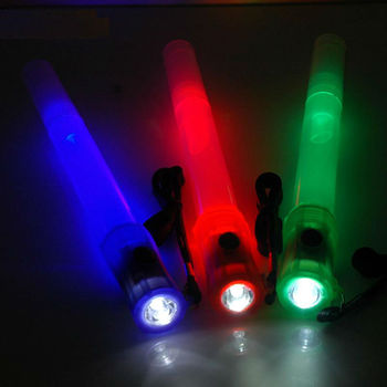 flashing light stick whistle