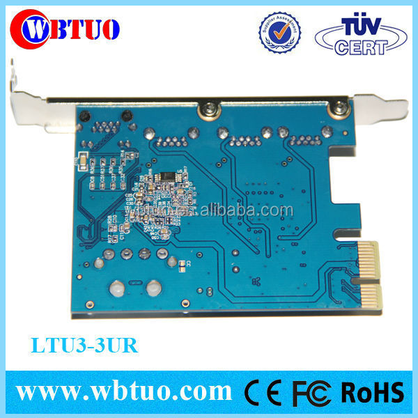 PCI Express USB3.0 lan pc card
