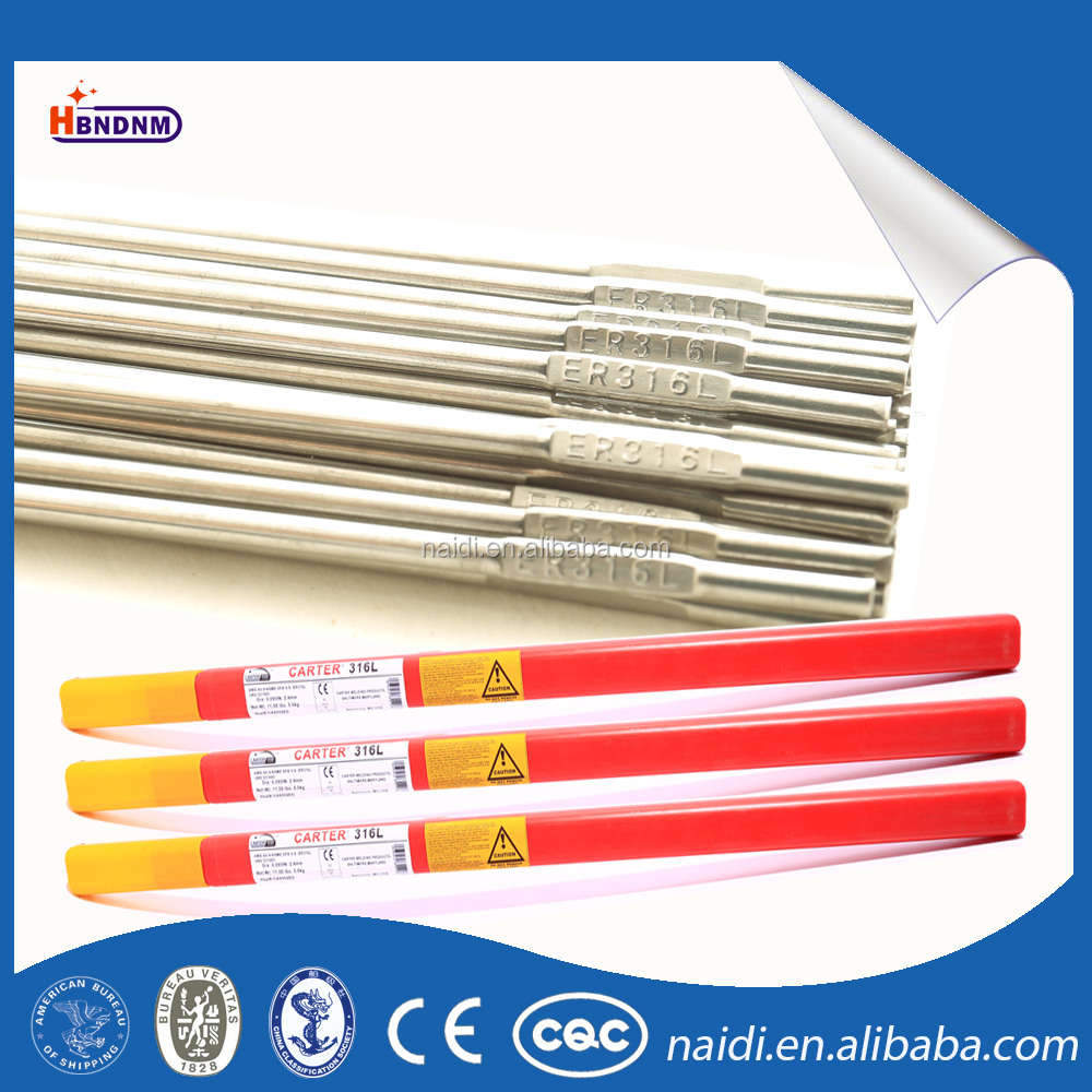 low price aws a5.9 er316l TIG stainless steel Welding solid Wire 316l rod 4mm 1mm