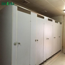 Cheap solid phenolic used commercial partition walls for bathroom