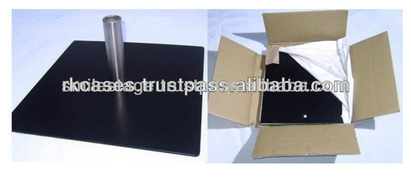 2013 RK adjustable pipe and drape - base plate promotion with clearance price for wedding