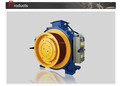 Good quality most popular elevator gearless traction motor gts