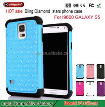 New Luxury Bling Diamond Crystal Star Hard Case Cover For Samsung Galaxy S5 supports Trade Assurance Transaction