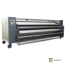 large format roll cloth fabric drum heating press calander roll to roll sublimation machine R1700