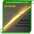 High quality diy side-emitting dimmable 335 smd CRI 80 underwater led rope light