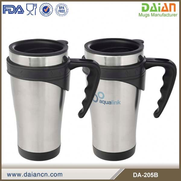 Double Wall 16oz stainless steel travel mug inserts