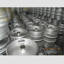 U.S. 1/2, 1/4, 1/6 bbl barrel 20L 30L 50L EURO Standard Food grade stainless steel draft craft beer keg for brewery equipment