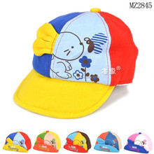 2015 Autumn Winter New Arrival Cute Rabbit Pattern Fashion Baby Sport Hats and Caps