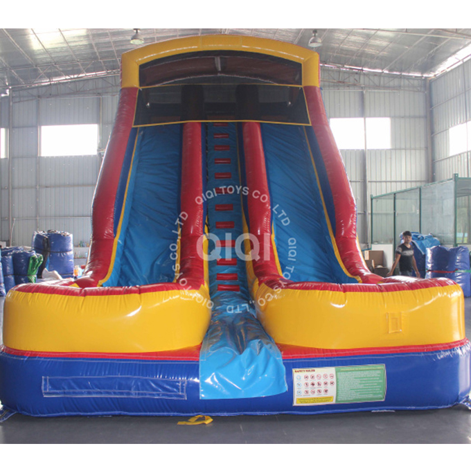 Commercial inflatable kids water <strong>slide</strong> fiber indoor water <strong>slide</strong> for sale