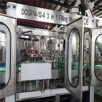 Water Glass Bottle Filling Bottling Machine