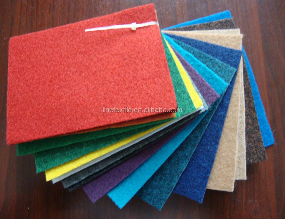 Decorative Commercial Nonwoven Exhibition Carpet Tiles
