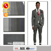 2197-27 100% Wool Fabric Wholesale for Suit with Ready Stock