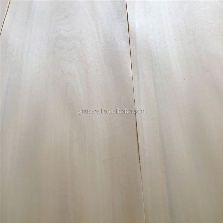 Basswood veneer natural wood veneer crown cut