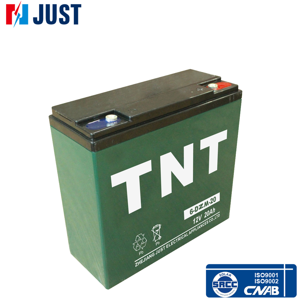 12v 20ah 6-dzm-20 electric vehicle battery for good price