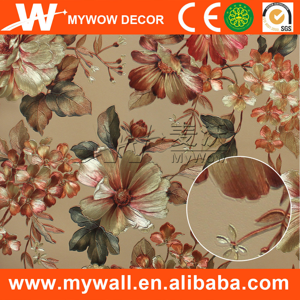 wallpaper 106cm,vinyl sheet wall covering,thai wall art wallpaper