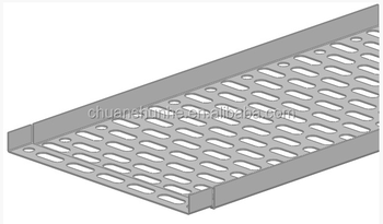 Power coated wire mesh Cable tray