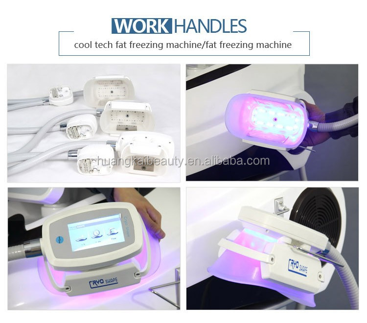 Three handles Cryotherapy/coolshape for body slimming machine Cry90